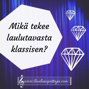 klasari, laulajan formantti, formantti, klassinen laulutekniikka, laulaminen, laulutunti, laulaja, ooppera, lied